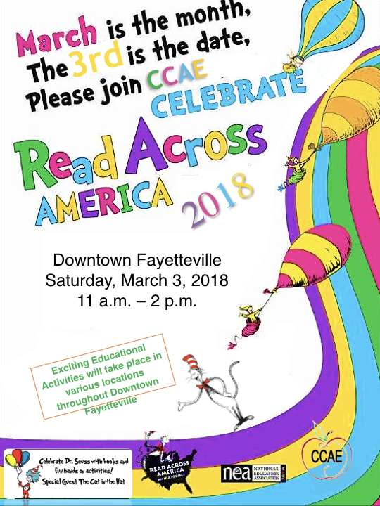 picture about Read Across America Printable named Read through Throughout The united states 2018 Cumberland County Affiliation of